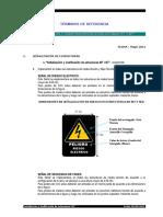 Codificacion y Señalizacion Estructuras ELECTRONORTE 2011