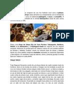 TRAJES TIPICOS BAILES Y ARTESANIA LA COMIDA TIPICA DE TABASCOS.docx