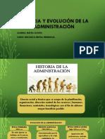 Historia y evolución de la administración