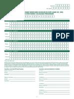 Cerere -Acord efectuare calculul preliminar