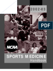 2002-03 Sports Med Handbook