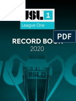 USL League One 2020 Record Book