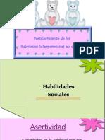 Habilidades Sociales 1 ciclo