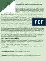 Guía sobre la actividad agrícola como base fundamental de la estructura económica de Venezuela