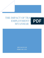 Trade and Employment in Myanmar (final)
