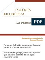 Antropología 3 - Fundamentación Metafísica de la persona humana.pptx
