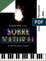 Cancionero Sobrenatural Marcos Witt