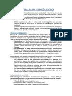 Magistral 9 - Las formas de participación política