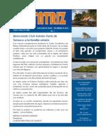 ROTATRIZ No. 7  - Boletín del Club Rotario Pasto Valle de Atriz - Diciembre 2010.