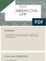 Civil Law Presentation Week 2