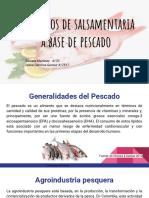 Productos de salsamentaria a base de pescado