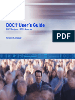 DOC1 Users Guide