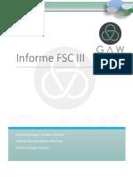 INFORME FSC IIIGAW