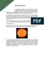 Os componentes do Sistema Solar