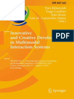 (IFIP Advances in Information and Communication Technology 425) Yves Rybarczyk, Tiago Cardoso, João Rosas, Luis M. Camarinha-Matos (eds.) - Innovative and Creative Developments in Multimodal Interacti.pdf