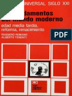 Romano, Ruggiero; Tenenti, Alberto. - Edad-Media tardia, Renacimiento, Reforma [1980].pdf