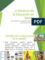tema 1 legislacion de la educacion en bolivia