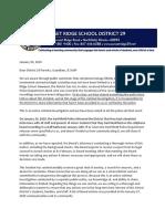 Sunset Ridge School Communication