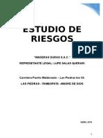 ESTUDIO DE RIESGO  CONSUMIDOR DIRECTO