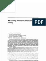 Bab 11 Strategi Pembangunan Seimbang Dan Tak Seimbang