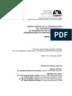 VISIÓN URBANA DE LA PRESERVACIÓN DEL PATRIMONIO CULTURA