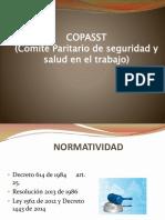 ROLES Y RESPONSABILIDADES COPASST