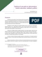 gestionar la escuela latinoamericana