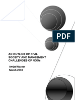 Civil Society and the Management Challenges of NGOs or Not-for-profit Organizations
