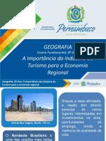 A importância da indústria do turismo para a economia regional