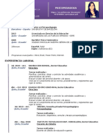 Curriculum Ximena Velástegui