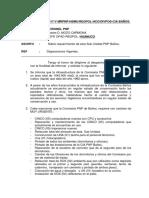 INFORME  MANTENIMIENTO DE LA CIA PNP BAÑOS