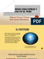 Concepciones Educ y Fil en el Peru