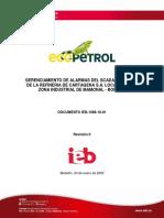 IEB- 1086-19-01 GERENCIAMIENTO DE ALARMAS DEL SCADA ELECTRICO DE LA REFINERIA DE CARTAGENA (Final)