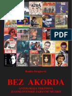 BEZ AKORDA - Antologija tekstova jugoslovenske zabavne muzike - Radiša Dragićević