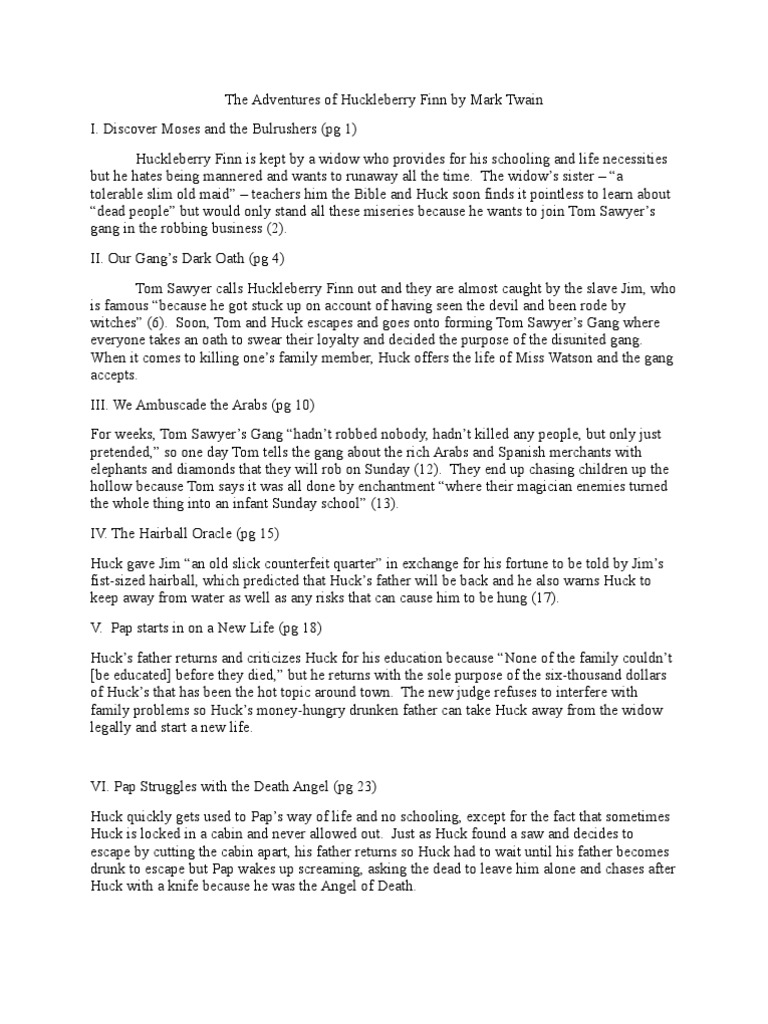 Huckleberry finn chapter by chapter summary huckleberry finn huckleberry finn chapter by chapter summary huckleberry finn adventures of huckleberry finn ccuart Image collections
