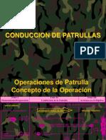 CONDUCCION DE PATRULLAS