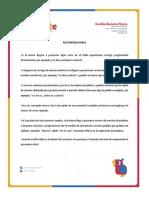 RECOMENDACIONES DE CORRECCIÓN DIRECTA