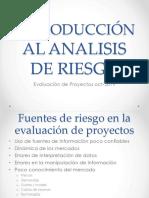 INTRODUCCIÓN AL ANALISIS DE RIESGO