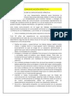 COMUNICACIÓN EFECTIVA unidad 4-1