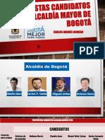 propuestas candidatos a alcaldía mayor de Bogotá