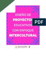 Diseño de proyectos con enfoque intercultural