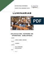 CALCULO DE NUMERO DE APARATOS