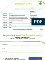 Invitation & Confirmation Respiratory Meet The Expert Meeting 2019
