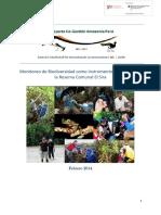 monitoreo Biodiversidad en El Sira