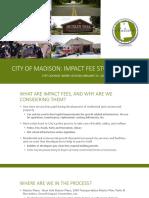 Madison Impact Fee Presentation--1!22!20