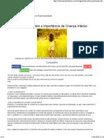 Entrevista sobre a importância da Criança Interior