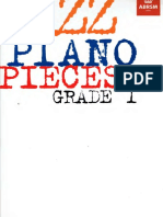 Jazz piano pieces Grade1