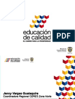 Presentacion MEN - Diálogo CERES - Jenny Vargas Guataquira -