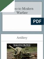 into to modern warfare ppt