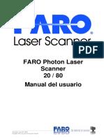 E629 FARO Photon Laser Scanner Manual ES